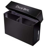 Ultra Pro 3-Compartment Oversized Deck Box Black