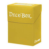 Ultra Pro Standard Deck Box Yellow