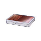 Ultra Pro Plastic Deck Box Hinged 25-Card Storage
