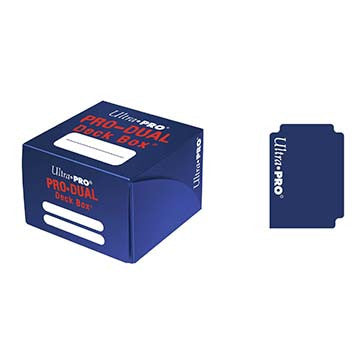Ultra Pro PRO-Dual Deck Box Blue
