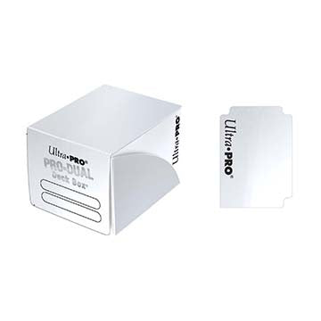 Ultra Pro PRO-Dual Small Deck Box White