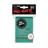 Ultra Pro Pro-Matte Small Deck Protector Sleeves Aqua (60)