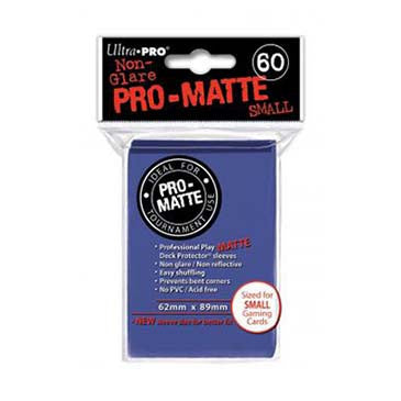 Ultra Pro Pro-Matte Small Deck Protector Sleeves Blue (60)