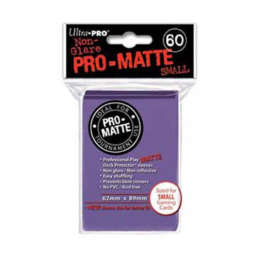 Ultra Pro Pro-Matte Small Deck Protector Sleeves Purple (60)