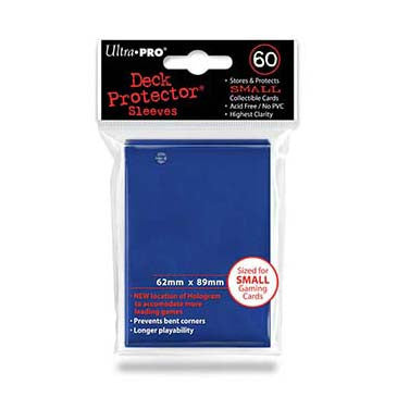 Ultra Pro Small Deck Protector Sleeves Blue (60)