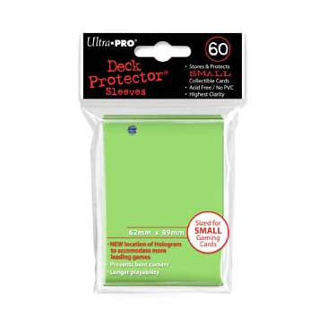 Ultra Pro Small Deck Protector Sleeves Lime Green (60)