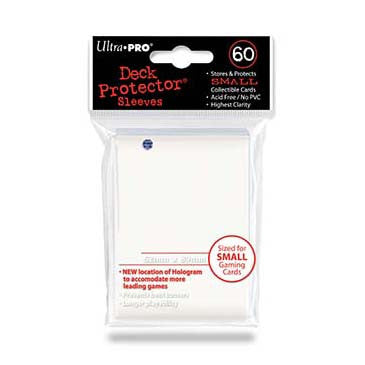 Ultra Pro Small Deck Protector Sleeves White (60)