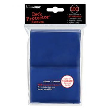 Ultra Pro Standard Deck Protector Sleeves Blue (100)