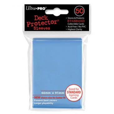 Ultra Pro Standard Deck Protector Sleeves Light Blue (50)