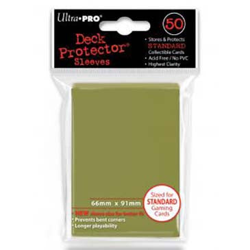 Ultra Pro Standard Deck Protector Sleeves Metallic Gold (50)