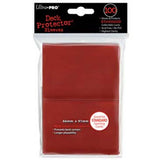 Ultra Pro Standard Deck Protector Sleeves Red (100)