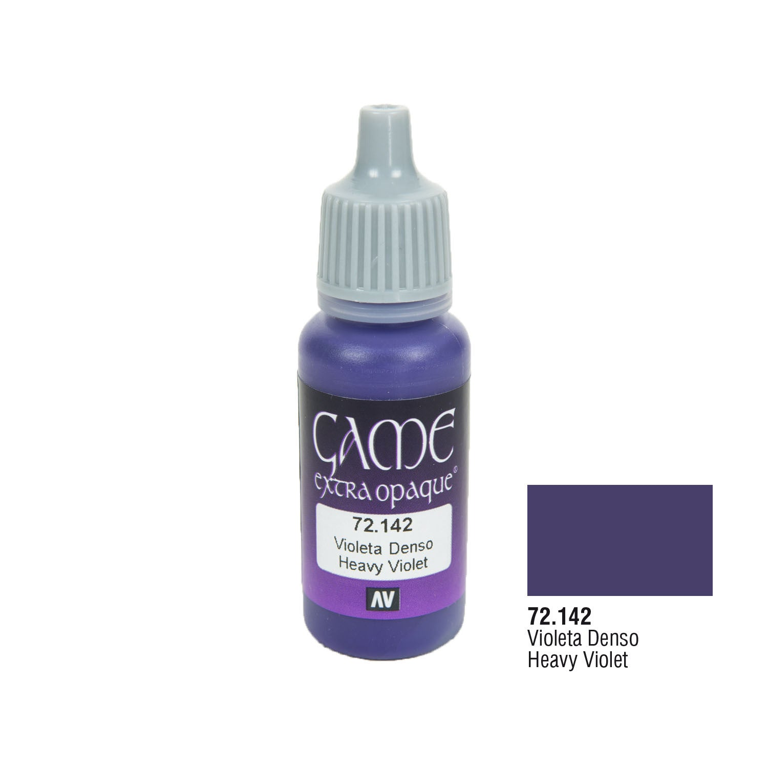 Vallejo 72.142 Game Extra Opaque: Heavy Violet, 17ml