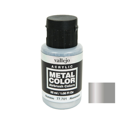 Vallejo 77.701 Metal Color: Aluminium (32 ml)