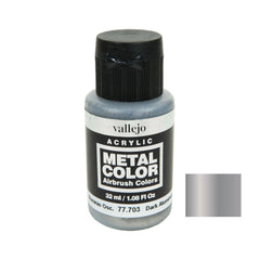 Vallejo 77.703 Metal Color: Dark Aluminium (32 ml)