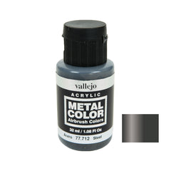 Vallejo 77.712 Metal Color: Steel (32 ml)