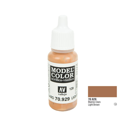 Vallejo 70.929 Model Color: Light Brown, 17ml