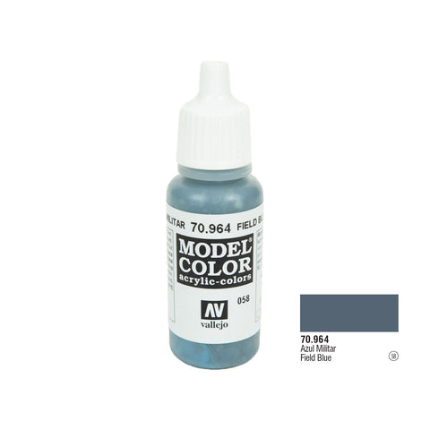 Vallejo 70.964 Model Color: Field Blue, 17ml