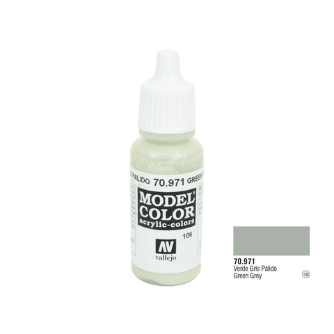 Vallejo 70.971 Model Color: Green Grey, 17ml