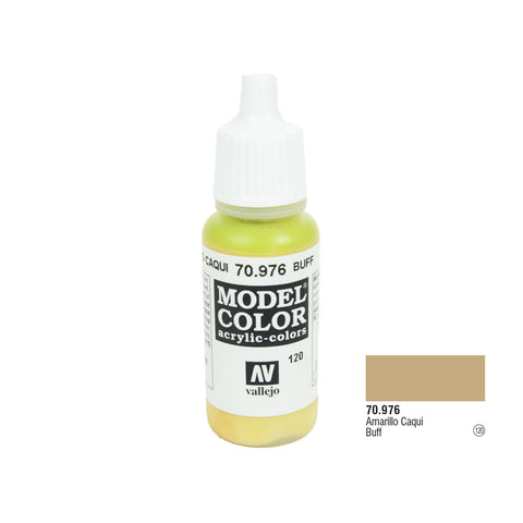 Vallejo 70.976 Model Color: Buff, 17ml