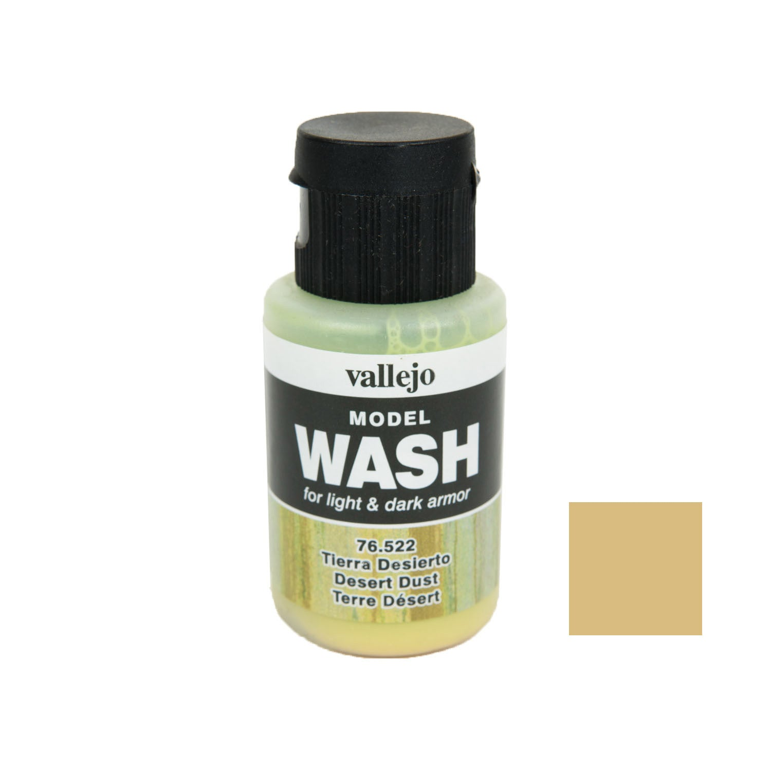 Vallejo 76.522 Model Wash: Desert Dust, 35 ml