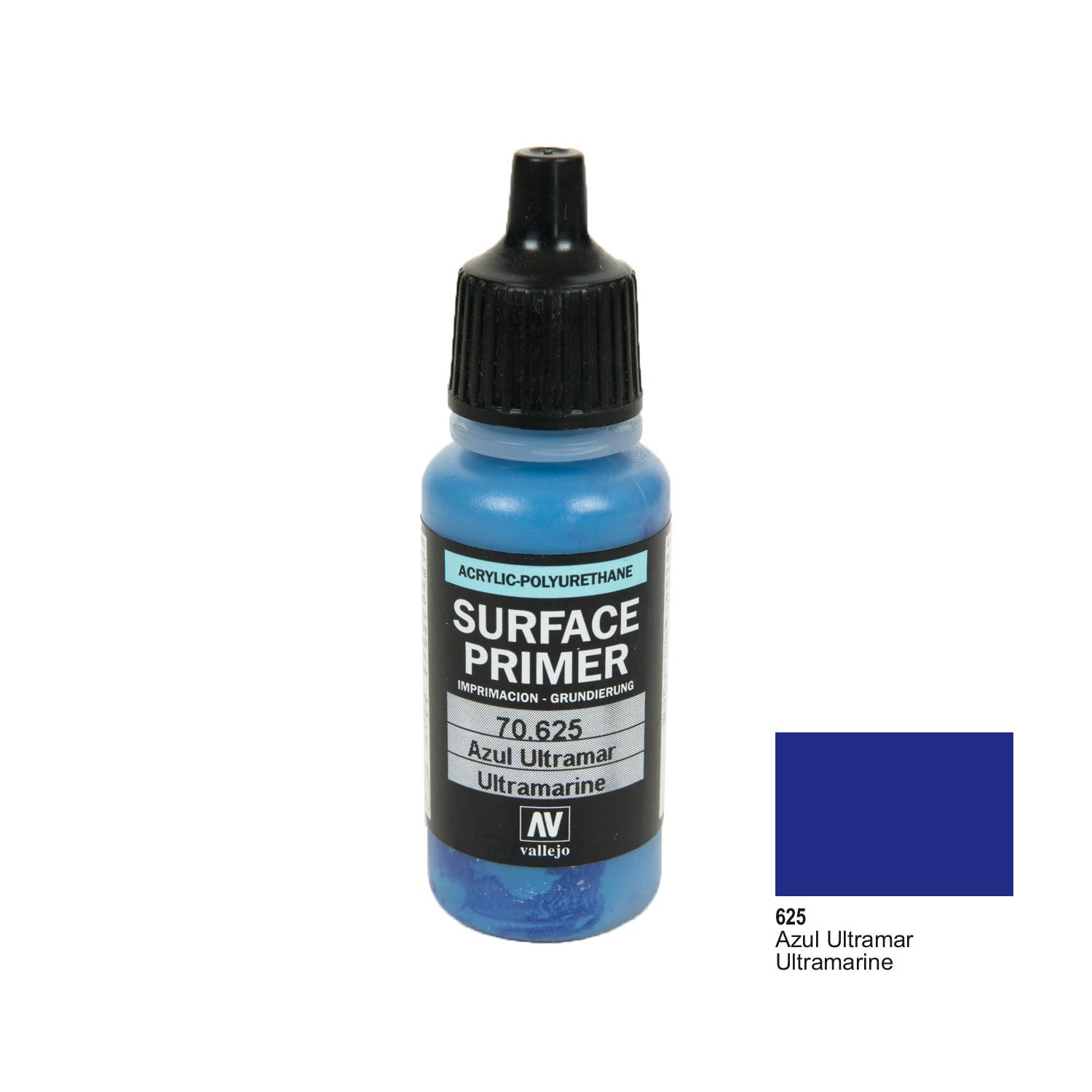 Vallejo 70.625 Surface Primer: Ultramarine, 17ml