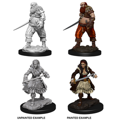 WizKids Deep Cuts™ Unpainted Miniatures: 73095 Pirates