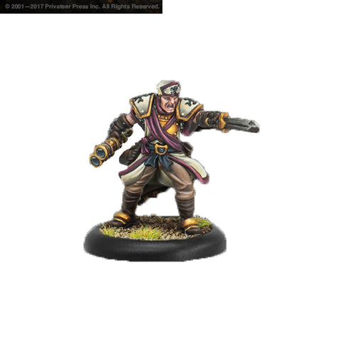Warmachine: Protectorate of Menoth - Deliverer Arms Master (1)