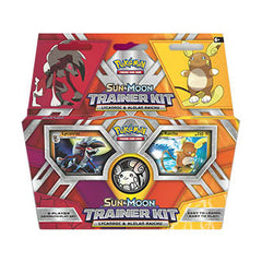 Pokemon TCG Sun & Moon Trainer Kit - Lycanroc and Alolan Raichu 2-Player Set