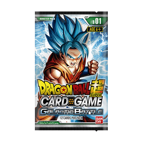 Dragon Ball Super TCG - Galactic Battle Booster Pack