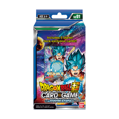 Dragon Ball Super TCG - Galactic Battle Starter Pack