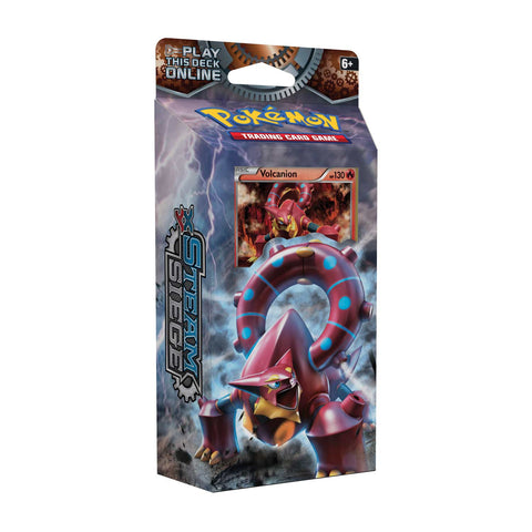Pokemon TCG Steam Siege Gears of Fire Theme Deck