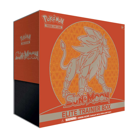 Pokemon TCG Sun & Moon Elite Trainer Box - Solgaleo