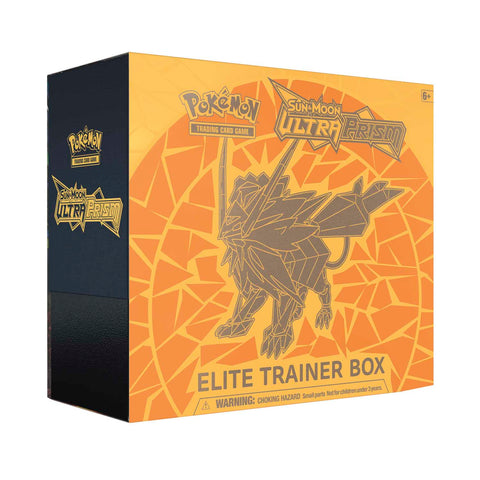 Pokemon TCG Sun & Moon: Ultra Prism Elite Trainer Box Dusk Mane Necrozma