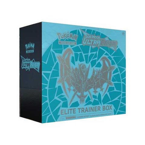 Pokemon TCG Sun & Moon: Ultra Prism Elite Trainer Box Dawn Wings Necrozma