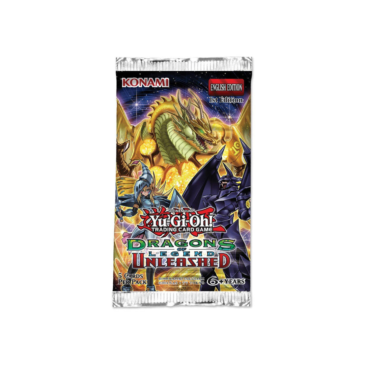 Yu-Gi-Oh! Dragons of Legend Unleashed Booster Pack