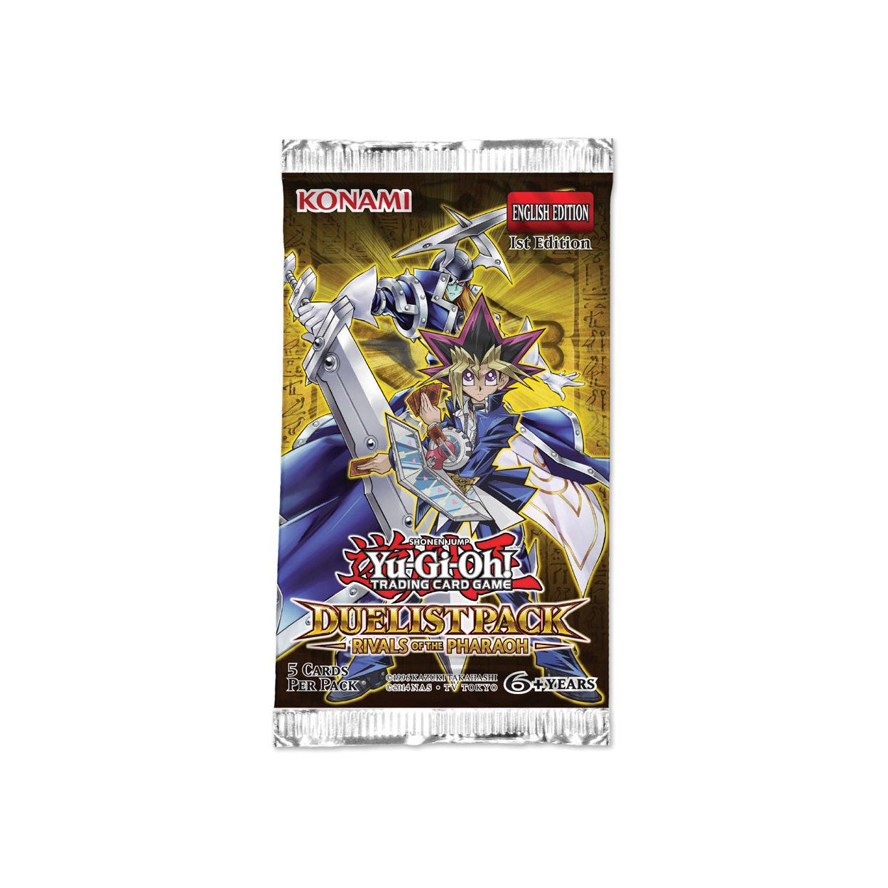 Yu-Gi-Oh! Duelist Pack: Rivals of the Pharaoh Booster Pack