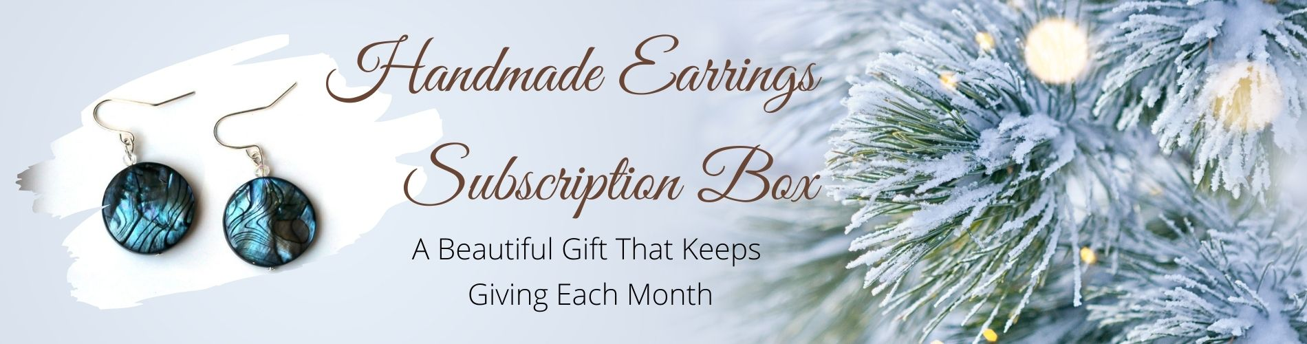 Handmade Earrings Subscriptions Box Gift