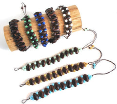 Rainforest Seed Bracelets