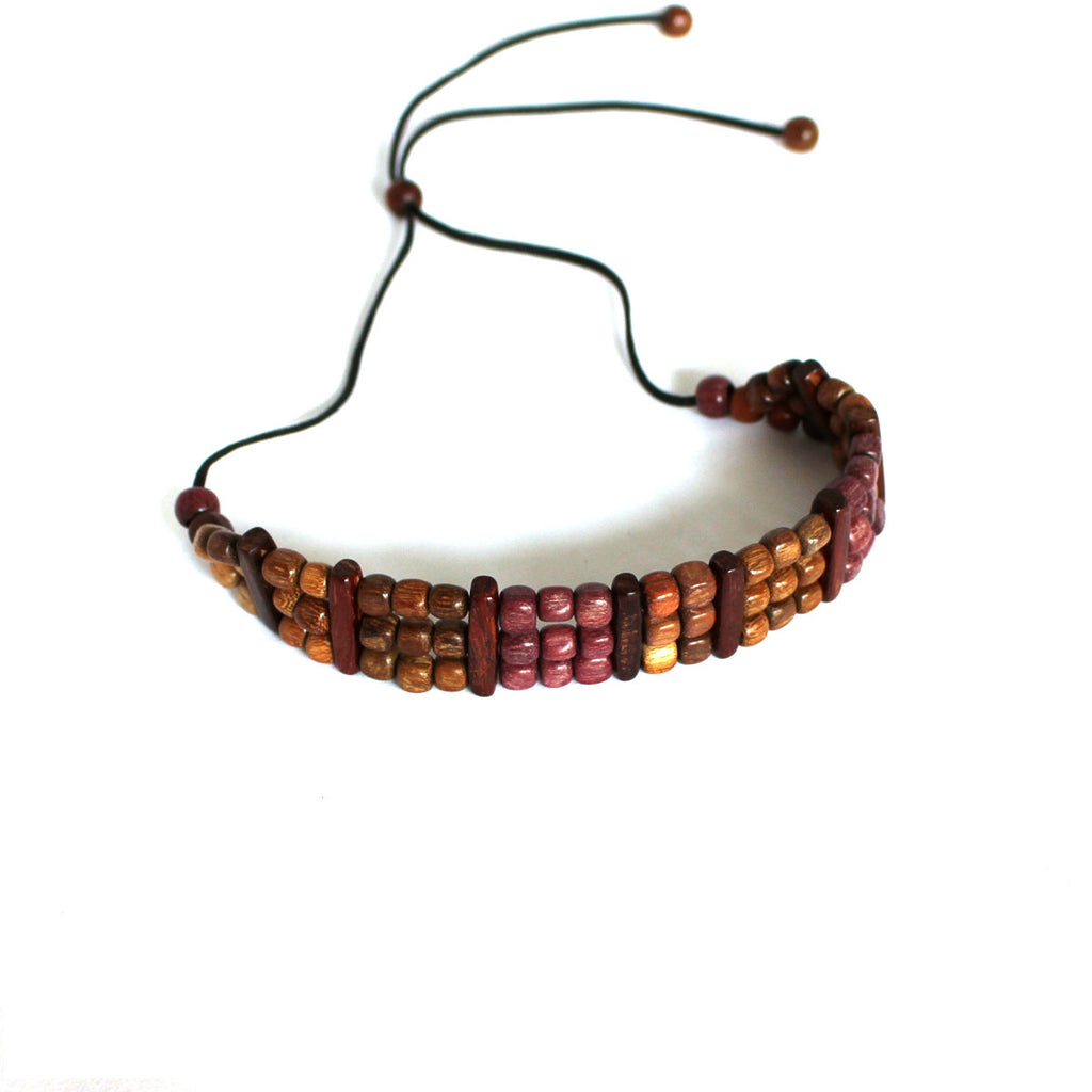 Wood Choker Necklace