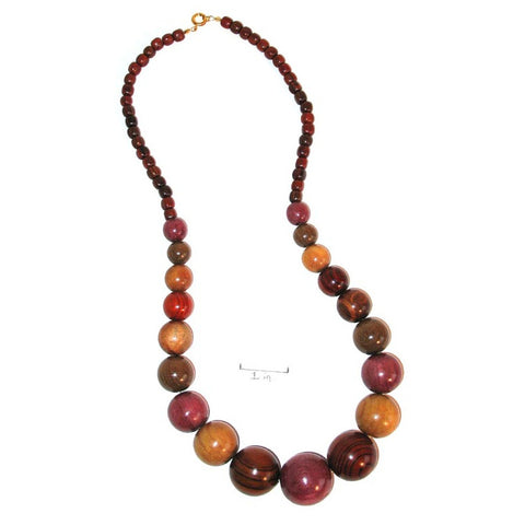 Exotic Wood Necklace - Luce