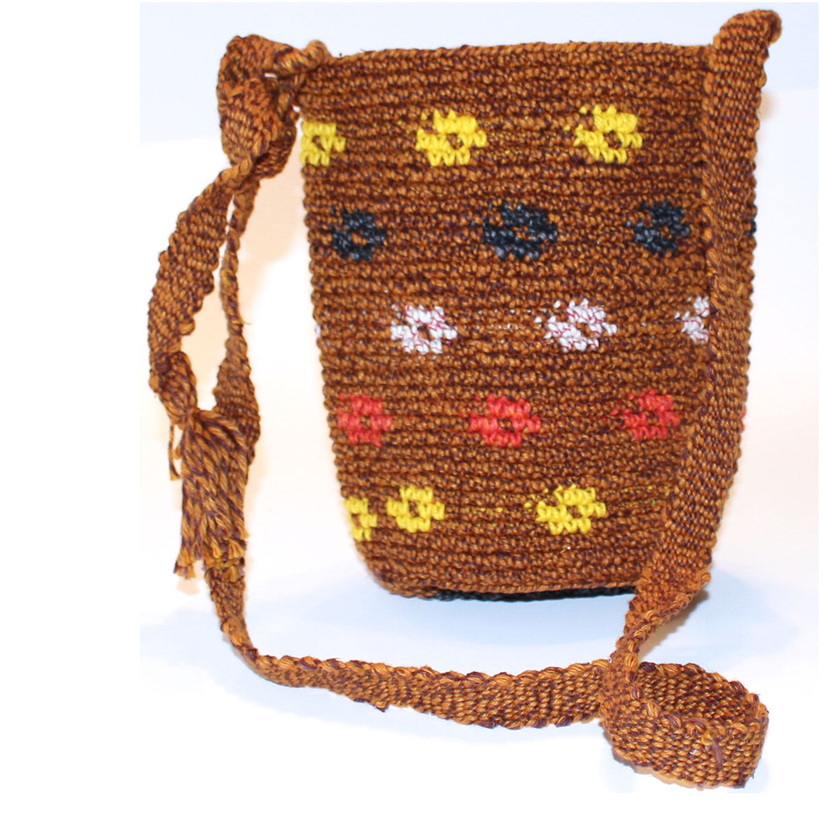 Mayan Bag - Brown Rings