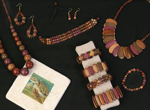 Wholesale Wood Necklaces  - Assorted Designs