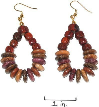 Rosewood Earrings - Indina