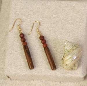 Rosewood Earrings - Paulina