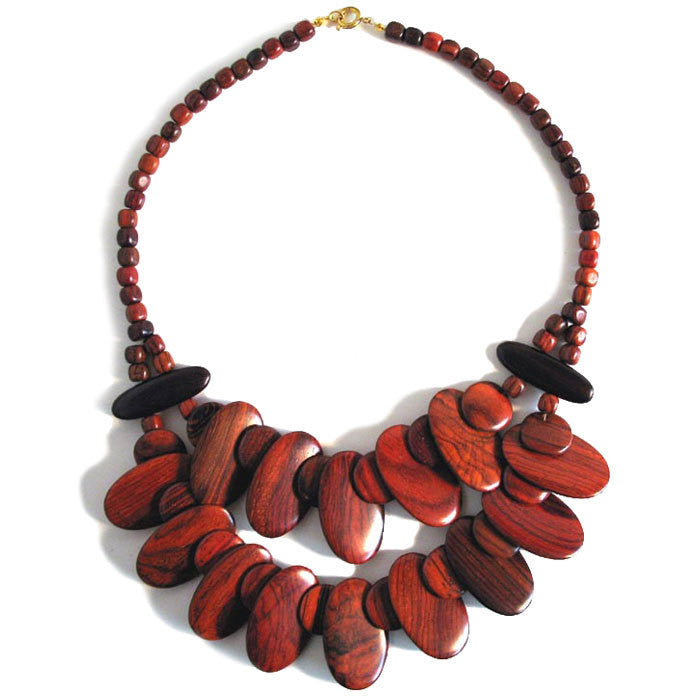 Rosewood Necklace - Amazonia
