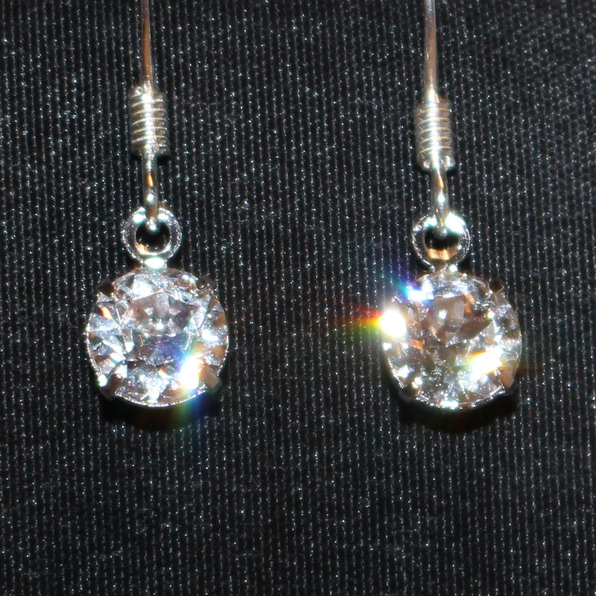 Swarovski Crystal Earrings - Small Earrings - Drop Earrings