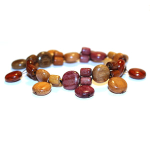 Exotic Wood Bracelet - Camilla