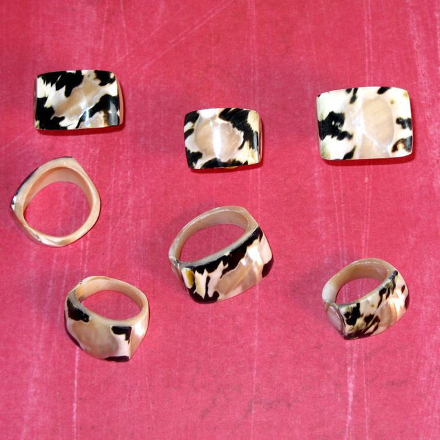 Solid Shell Ring
