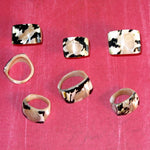 Wholesale Solid Shell Rings