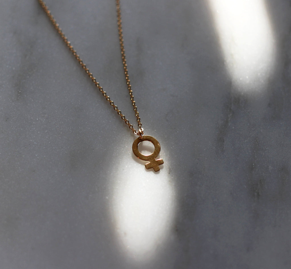 14K Demigoddess Necklace